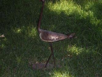 Μεταλλικό πουλί!!!